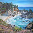McWay Falls, Big Sur by Teresa Dominici