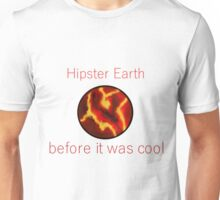 hipster Earth Unisex T-Shirt