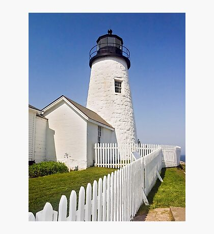 Maine's Pemaquid Point Lighthouse Photographic Print