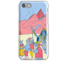 Kali dance  iPhone Case/Skin