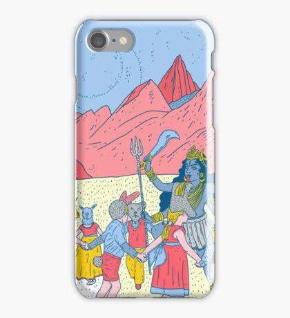 Kali dance  iPhone Case/Skin