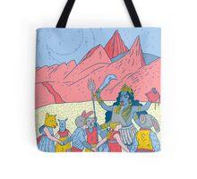 Kali dance  Tote bag