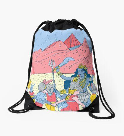 Kali dance  Drawstring Bag