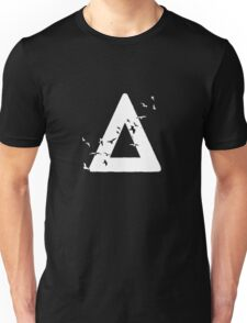 Bastille Birds Triangle White Unisex T-Shirt