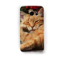 Bored cat Samsung Galaxy Case/Skin