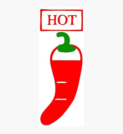 hot chilli Photographic Print