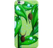 Playing in the Rain iPhone Case/Skin