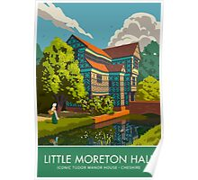 Little Moreton Hall, Cheshire Poster
