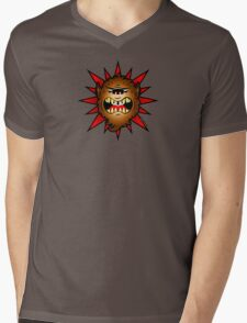 Wolfie the Wolfman Mens V-Neck T-Shirt