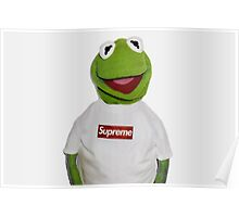 Kermit The Frog Supreme  Poster