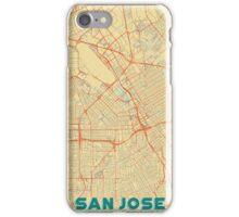 San Jose Map Retro iPhone Case/Skin