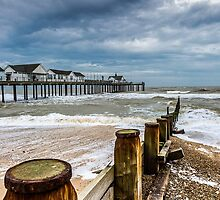 A Cold Day At Southwold by timpr