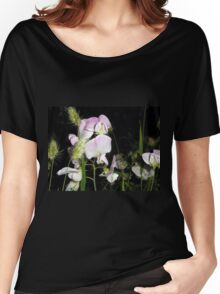 Pale Sweet Peas. Women's Relaxed Fit T-Shirt