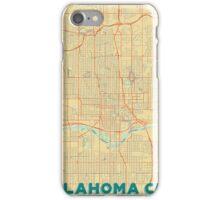 Oklahoma City Map Retro iPhone Case/Skin