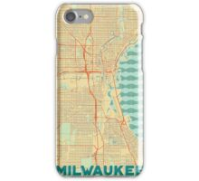 Milwaukee Map Retro iPhone Case/Skin