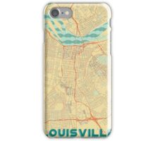 Louisville Map Retro iPhone Case/Skin