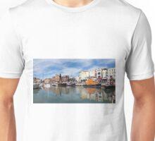 Panoramic view of Ramsgate Harbour Unisex T-Shirt