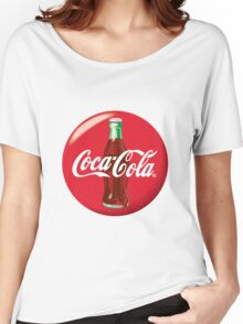 Coke Logo Women's Relaxed Fit T-Shirt