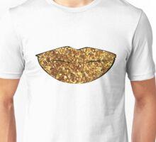 Sequin Lips Unisex T-Shirt