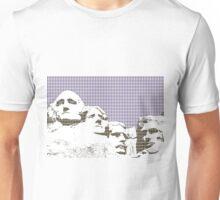 Mount Rushmore - Violet Unisex T-Shirt
