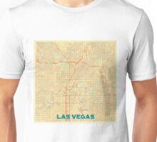Las Vegas Map Retro Unisex T-Shirt