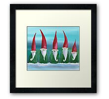 The Elves Framed Print