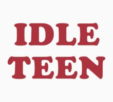 IDLE TEEN by jazzydevil