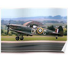Spitfire LF.VIIIc MT719/CK-C G-VIII Poster