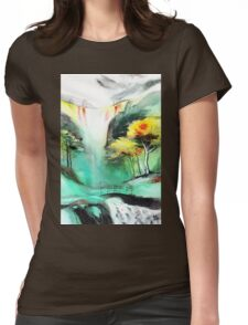 SpringFall Womens Fitted T-Shirt