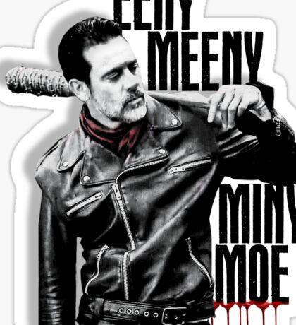 The Walking Dead - Negan Sticker