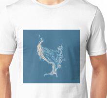 Water splash drawing Unisex T-Shirt