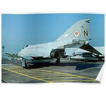McDonnell F-4J(UK) Phantom F.3 ZE357/N Poster