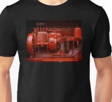 Red Tractor Motor Unisex T-Shirt