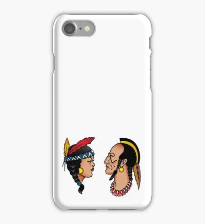 Sailor Tattoo Indians iPhone Case/Skin