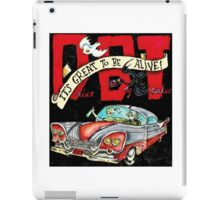 DRIVE BY TRUCKERS TOURS 8 iPad Case/Skin