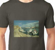 Heraklion old harbour  Unisex T-Shirt