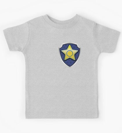 Chase - Police Pup-tag Kids Tee