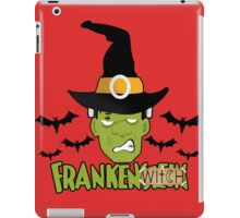 FrankenWitch Funny Halloween iPad Case/Skin
