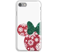 Christmas Silhouette  iPhone Case/Skin