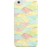 Abstract doodle wavy scale texture iPhone Case/Skin