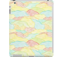 Abstract doodle wavy scale texture iPad Case/Skin