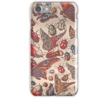 Vintage Insects iPhone Case/Skin