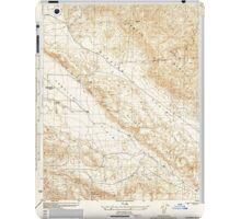 USGS TOPO Map California CA Elkhorn Hills 296078 1944 31680 geo iPad Case/Skin
