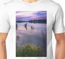 Twilight Time on Lake Unisex T-Shirt