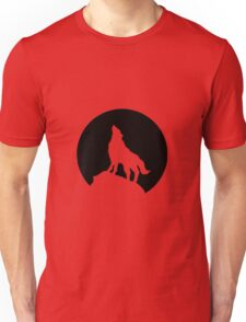 Wolf and Moon Unisex T-Shirt