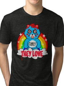 They Love Tri-blend T-Shirt