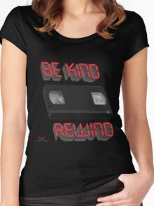 Be Kind Rewind Ver. 9 Women's Fitted Scoop T-Shirt