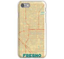 Fresno Map Retro iPhone Case/Skin