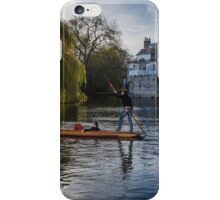 Punt on the River Cam iPhone Case/Skin