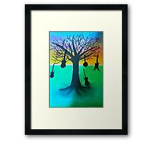 The music tree the original Framed Print